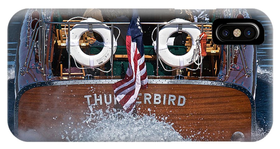 Runabout IPhone X Case featuring the photograph Thunderbird by Steven Lapkin