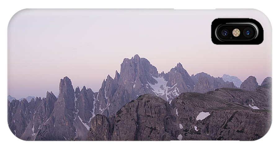 Mount IPhone X Case featuring the photograph Mountain by FL collection