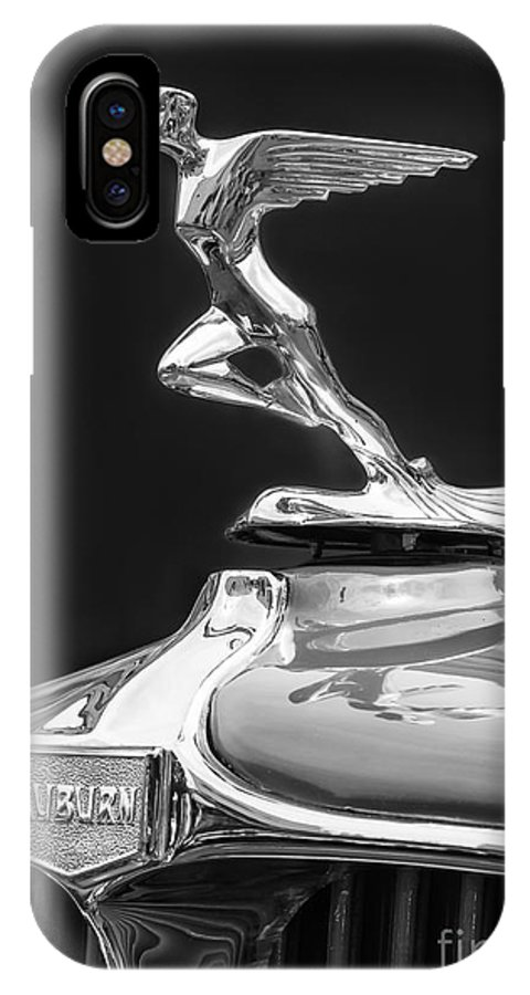 Classic IPhone X Case featuring the photograph 1931 Auburn by Dennis Hedberg