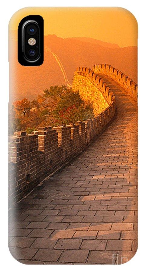 Asian Art IPhone X Case featuring the photograph China, Mu Tian Yu by Gloria & Richard Maschmeyer - Printscapes