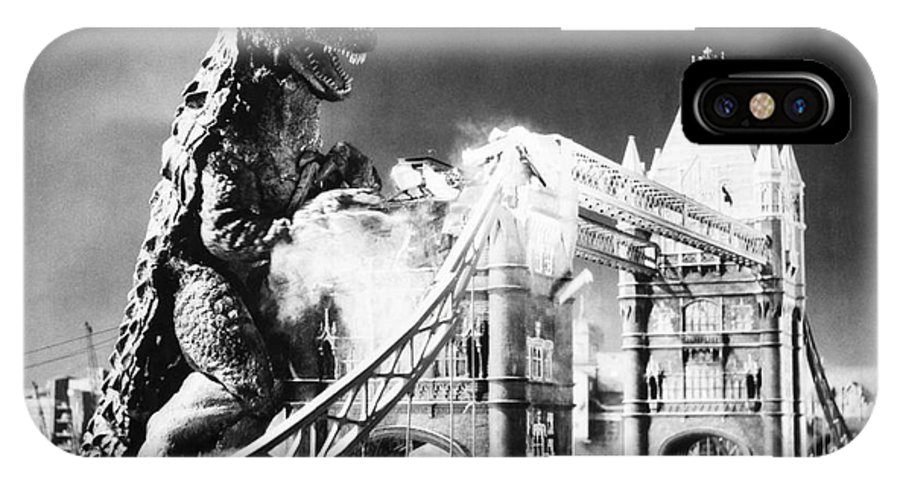 20th Century IPhone X Case featuring the photograph Godzilla by Granger