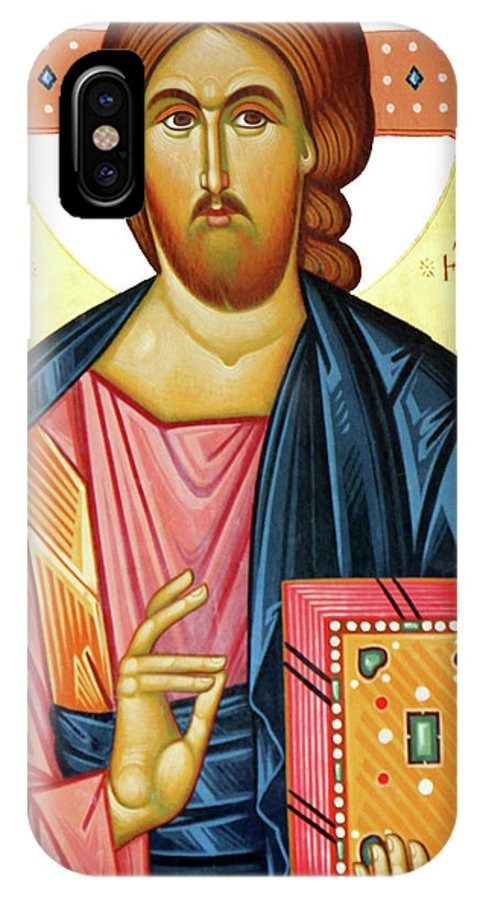 Jesus Christ IPhone X Case featuring the photograph Jesus Teaching by Munir Alawi