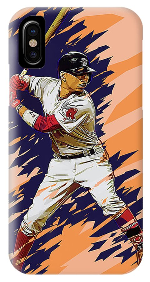 sports shoes 33e08 38c2f Mookie Betts IPhone X Case