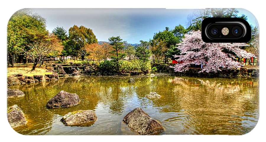 Nara Japan IPhone X / XS Case featuring the photograph Nara Japan by Paul James Bannerman