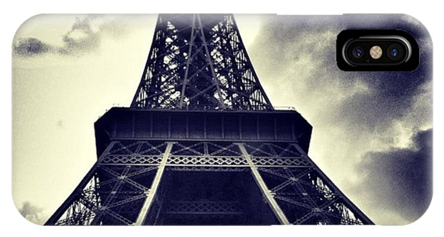 Instaaddict IPhone X Case featuring the photograph #paris by Ritchie Garrod