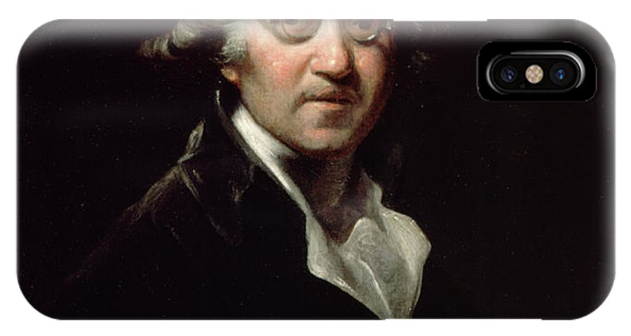 British IPhone X Case featuring the painting Self-portrait by Joshua Reynolds