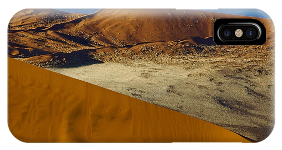 Africa IPhone X Case featuring the photograph The Dunes Of Sossusvlei by Michele Burgess
