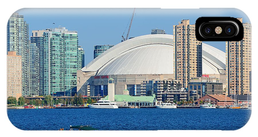 Toronto IPhone X Case featuring the photograph Toronto by Songquan Deng