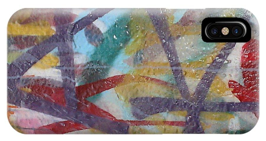 Urban Art IPhone X Case featuring the photograph Urban Art by Chandelle Hazen