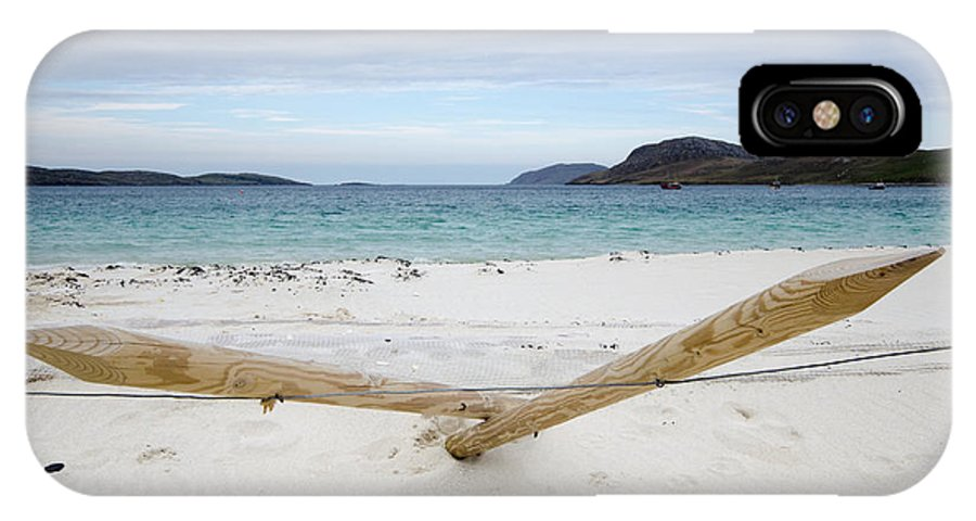 Vatersay IPhone X / XS Case featuring the photograph Vatersay by Smart Aviation