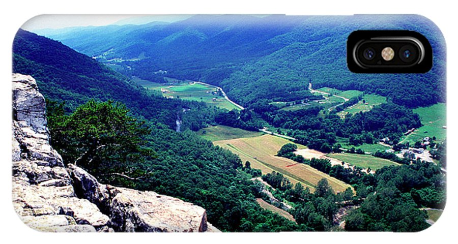 West Virginia IPhone X Case featuring the photograph View From Atop Seneca Rocks by Thomas R Fletcher