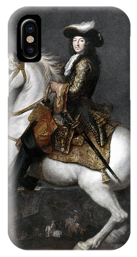 1674 IPhone X Case featuring the photograph Louis Xiv (1638-1715) by Granger