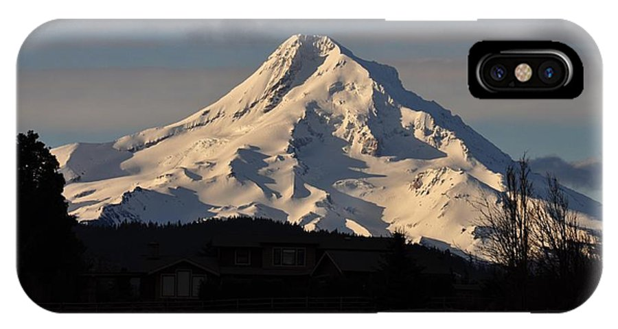 Mountain IPhone X Case featuring the photograph Mountain by FL collection
