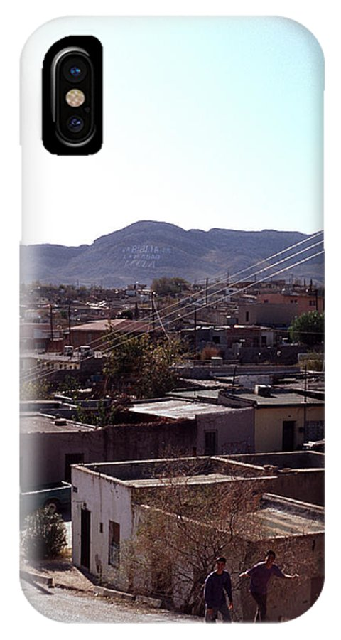 Juarez IPhone X / XS Case featuring the photograph Cuidad Juarez Mexico Color From 1986-1995 by Mark Goebel