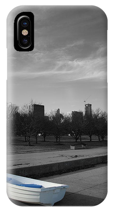 Cityscape IPhone X Case featuring the photograph 347 by Dylan Punke