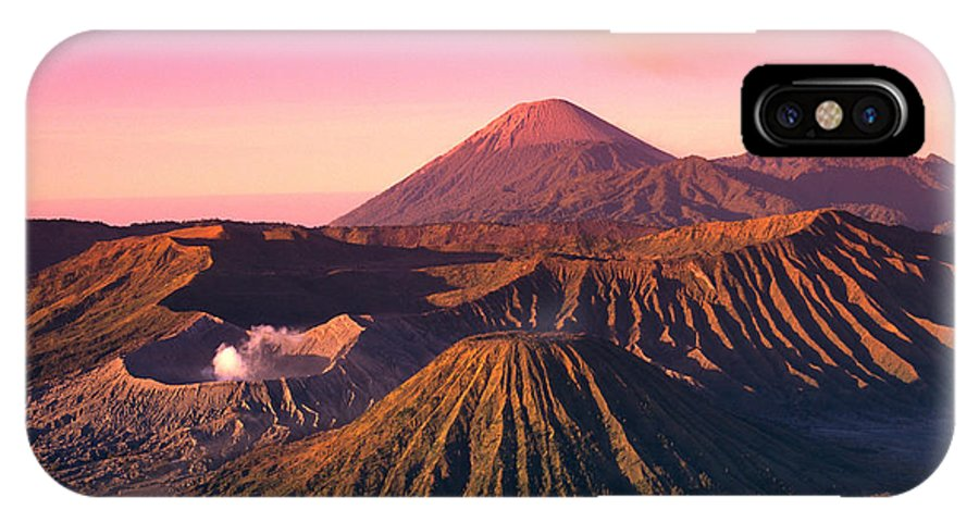 Bromo IPhone X Case featuring the photograph Bromo Tengger Semeru by Gloria & Richard Maschmeyer - Printscapes