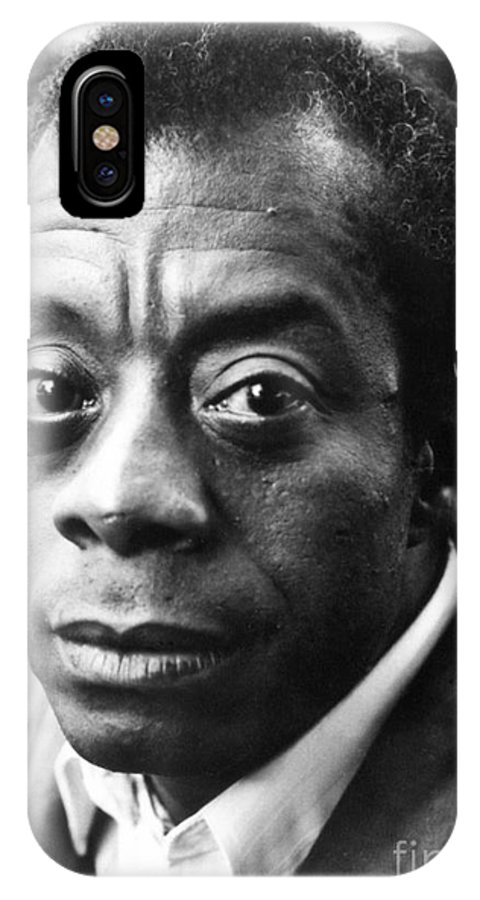 20th Century IPhone X Case featuring the photograph James Baldwin by Granger