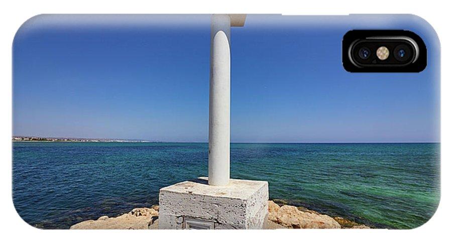 Finland IPhone X Case featuring the photograph Liopetri Beach by Jouko Lehto