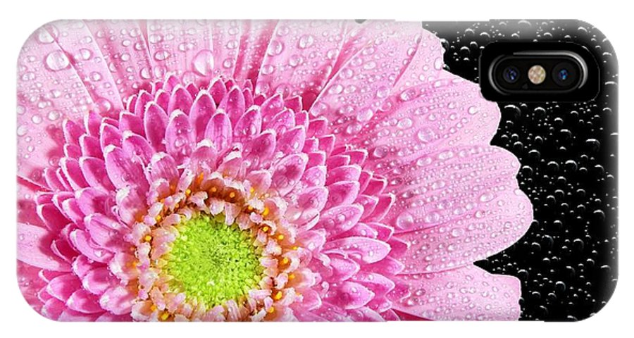 Flower IPhone X Case featuring the photograph Pink Flower by FL collection