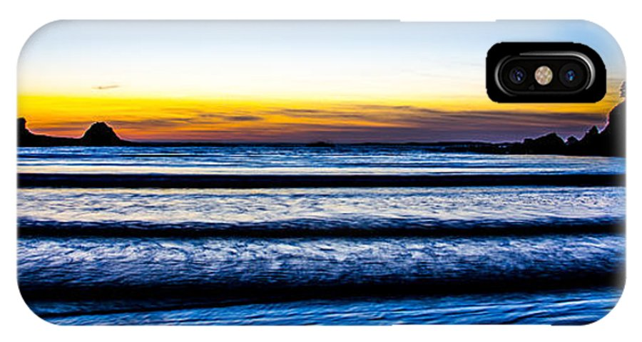 IPhone X Case featuring the photograph Sunset Bay Beach by Angus Hooper Iii