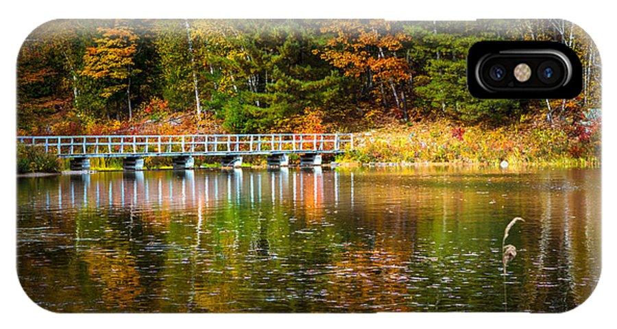 America IPhone X Case featuring the photograph Autumn Season In Killarney by Aqnus Febriyant