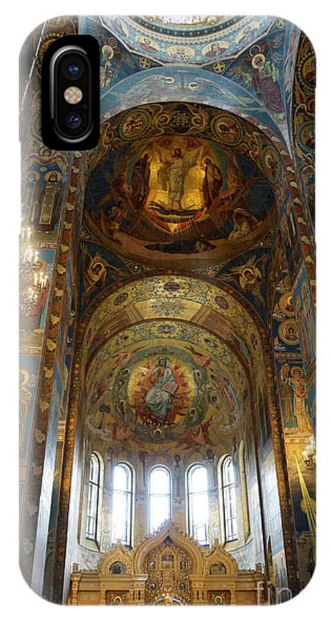Church IPhone X Case featuring the photograph Church Of The Savior On Spilled Blood by Vladi Alon