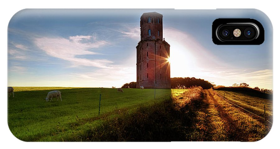 Horton Tower IPhone X Case featuring the photograph Horton Tower - England by Joana Kruse