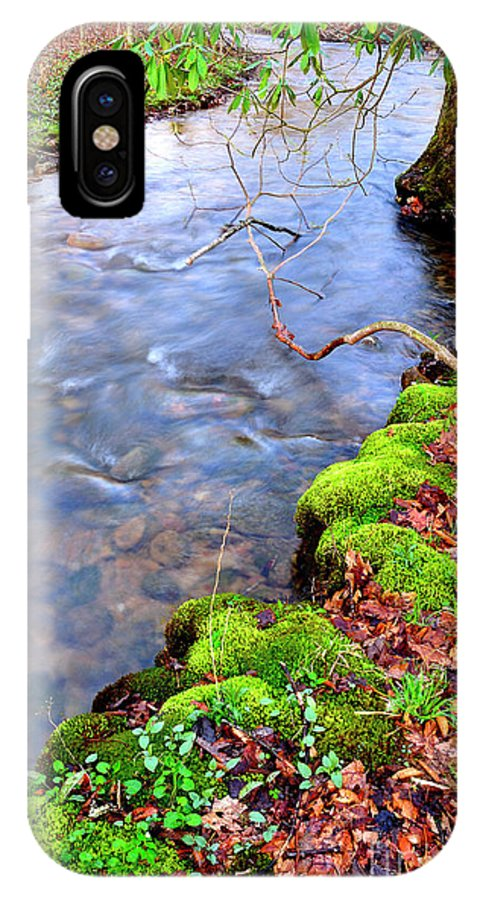 West Virginia IPhone X Case featuring the photograph Middle Fork Of Williams River by Thomas R Fletcher