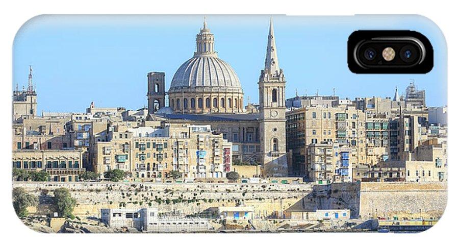 Valletta IPhone X Case featuring the photograph Valletta - Malta by Joana Kruse