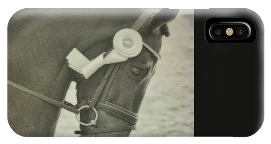 Horse IPhone X Case featuring the photograph Victory Gallop by JAMART Photography