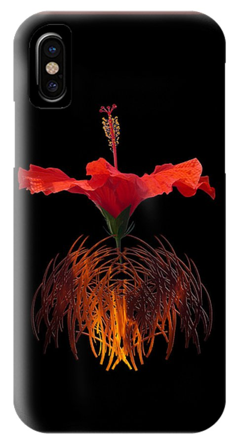 Grass IPhone X / XS Case featuring the photograph 4106 by Peter Holme III