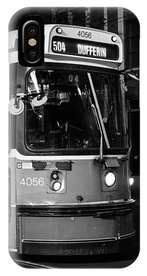 Toronto IPhone X Case featuring the photograph 504 Streetcar by Tanya Harrison