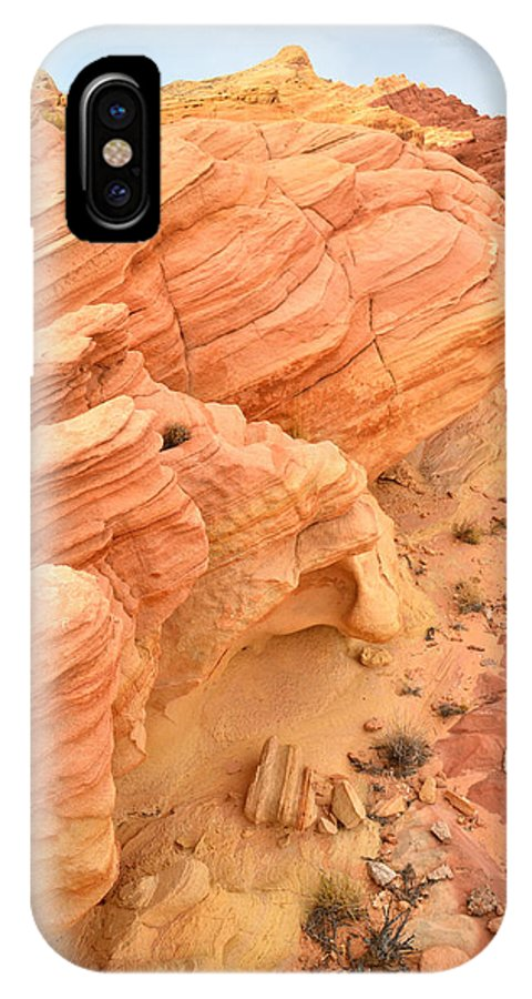 Valley Of Fire State Park IPhone X / XS Case featuring the photograph Valley Of Fire by Ray Mathis