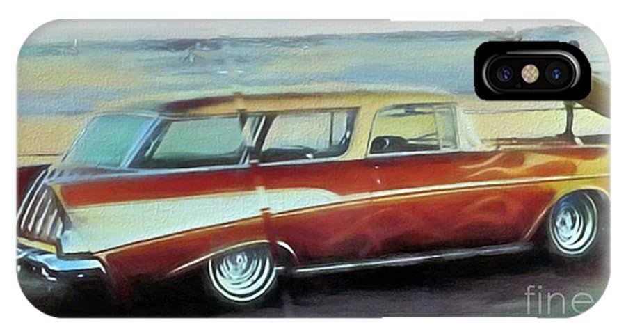 57 Chevy Nomad IPhone X Case