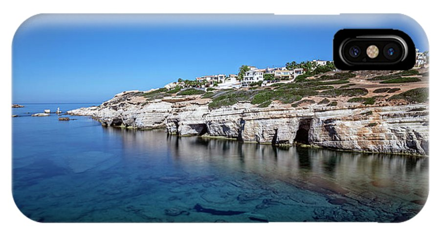 Sea Caves IPhone X Case featuring the photograph Pegeia - Cyprus by Joana Kruse