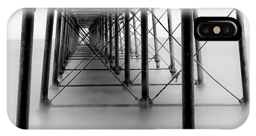 Saltburn IPhone X Case featuring the photograph Saltburn Pier by Graham Moore