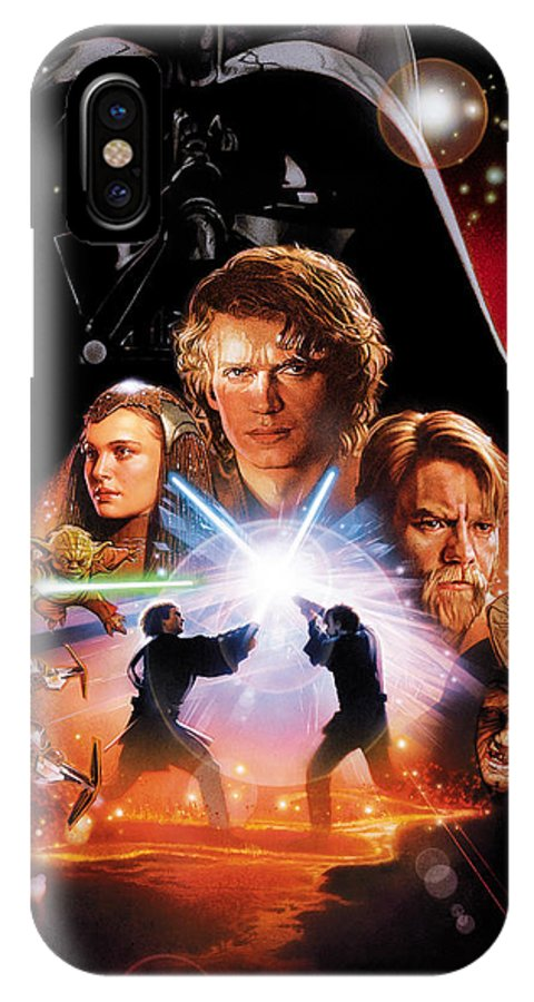 Star Wars Episode Iii Revenge Of The Sith 2005 Iphone X Case For Sale By Geek N Rock