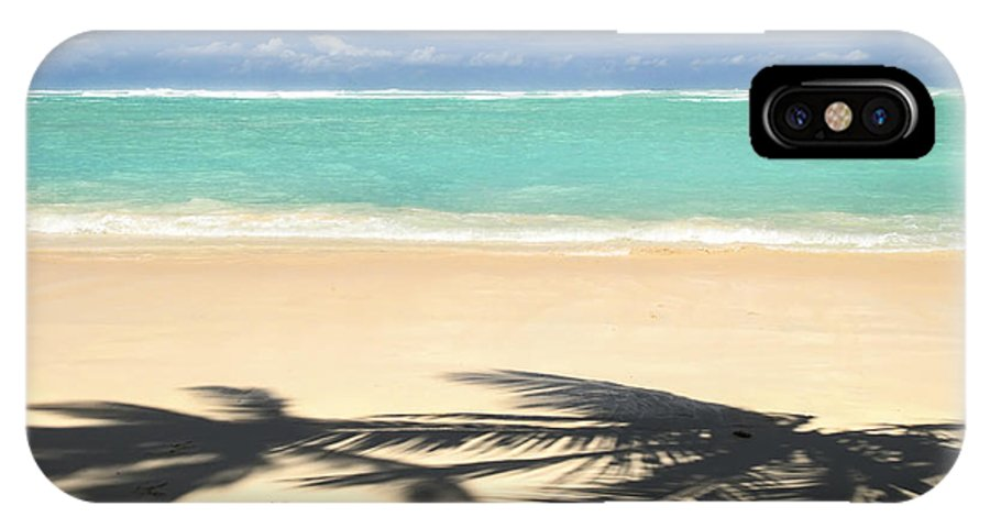 Beach IPhone X Case featuring the photograph Tropical Beach by Elena Elisseeva