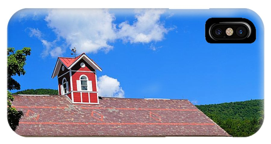 Barns IPhone X Case featuring the photograph Feeling Good by Jeffery L Bowers