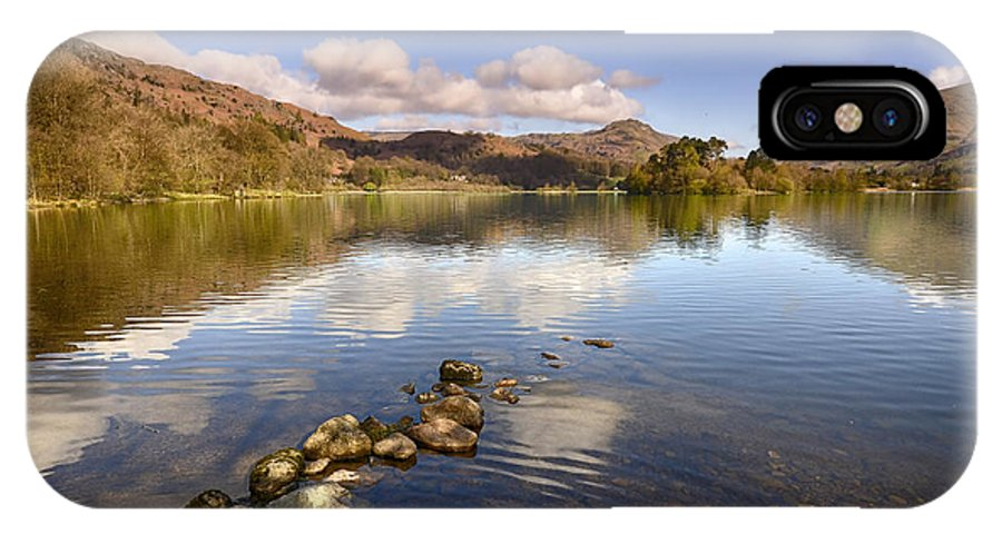 Grasmere IPhone X Case featuring the photograph Grasmere by Smart Aviation