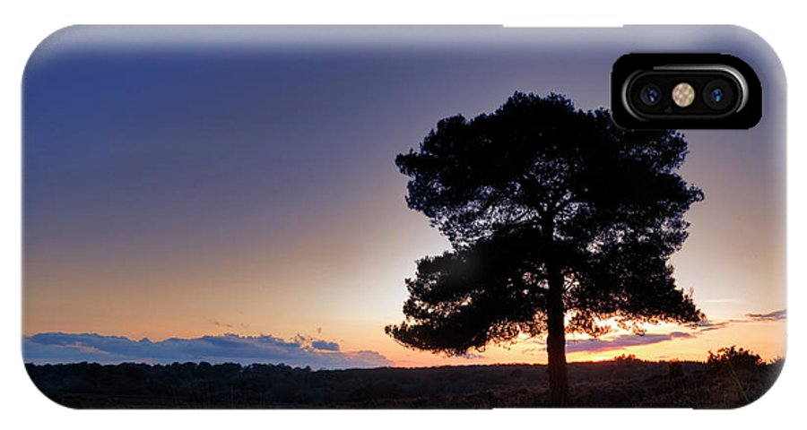 Bratley View IPhone X Case featuring the photograph New Forest - England by Joana Kruse