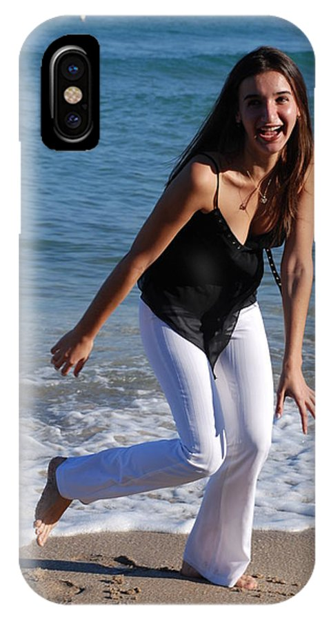 Sea Scape IPhone Case featuring the photograph Gisele by Rob Hans