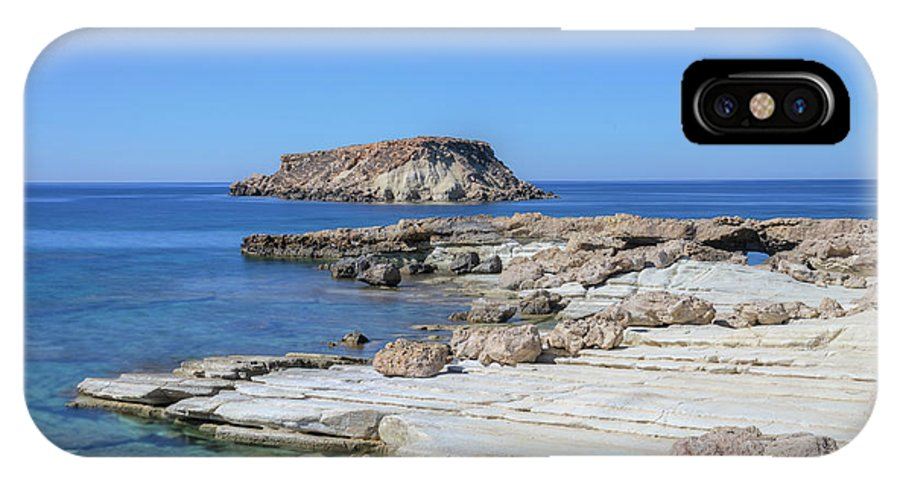 Agios Georgios IPhone X Case featuring the photograph Pegeia - Cyprus by Joana Kruse