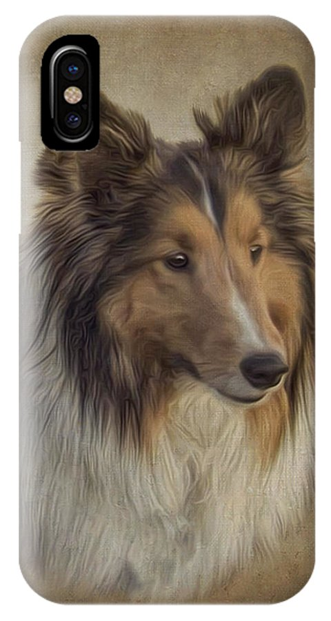 8321890 IPhone X Case featuring the digital art 8321890 by Andy Accessories
