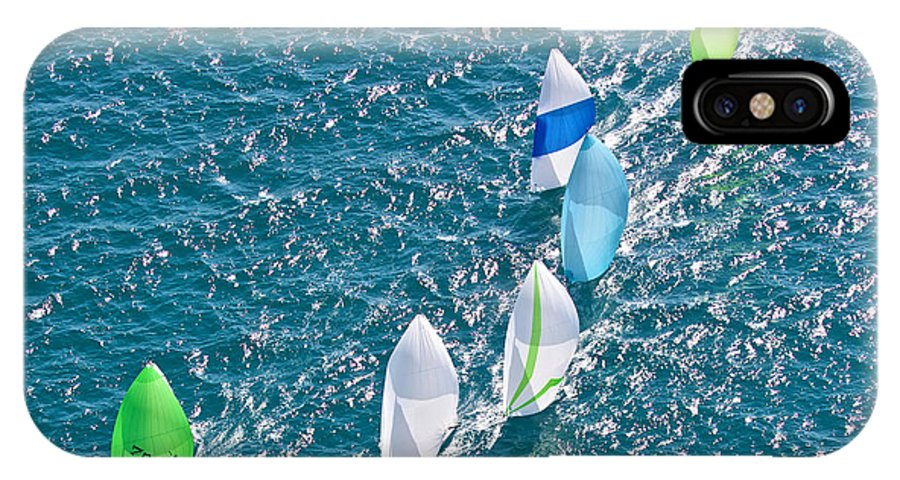 Key IPhone X Case featuring the photograph Key West Race Week by Steven Lapkin