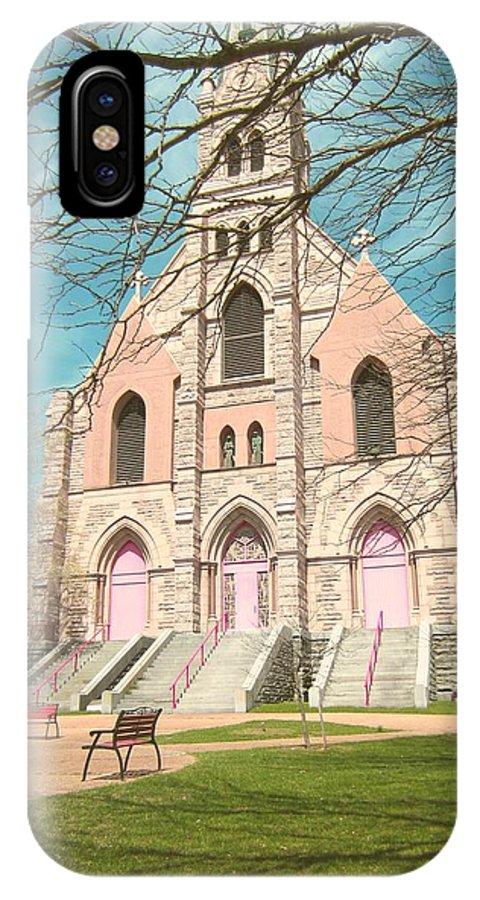 Parish IPhone X Case featuring the photograph A Catholic Parish by Jamel Thomas