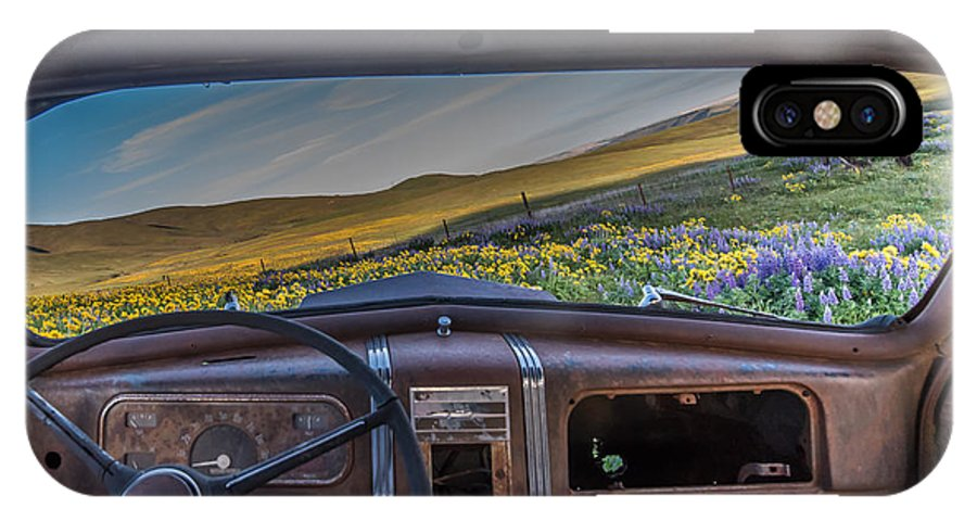 Landscape IPhone X Case featuring the photograph A Classics View by Exquisite Oregon
