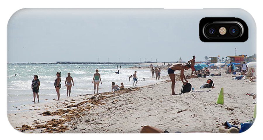Nude IPhone Case featuring the photograph A Day At Paradise Beach by Rob Hans