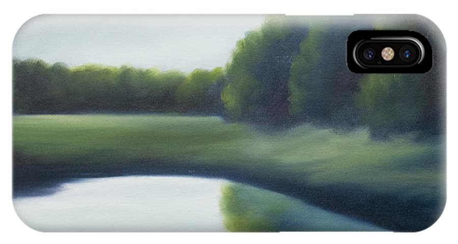Clouds IPhone X Case featuring the painting A Day In The Life 2 by James Christopher Hill