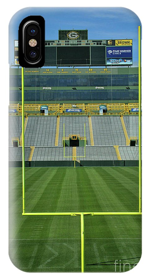 Lambeau Field IPhone X Case featuring the photograph A Field Of Honor by Tommy Anderson